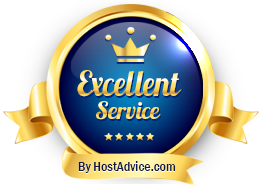 KrystalHost was awarded this badge for its excellent service
